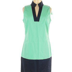 NWT Sail To Sable Shift Dress tunic  mint navy